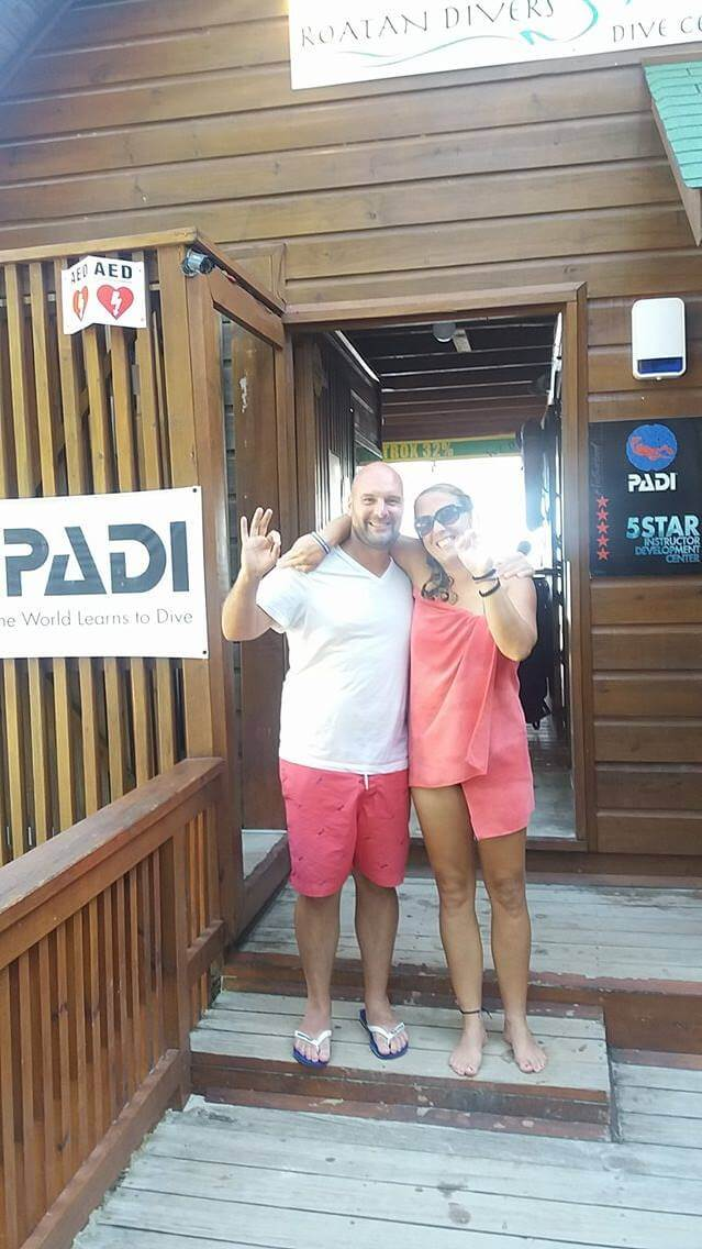 open water course roatan padi
