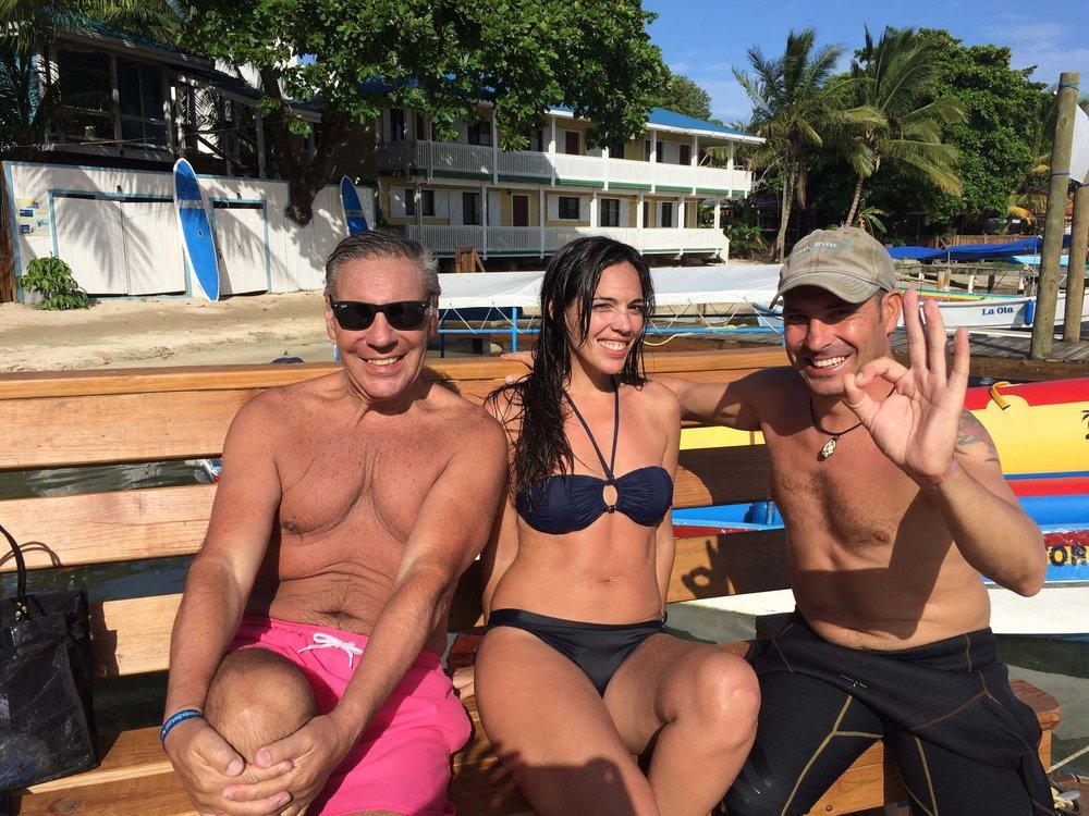 Discover scuba diving roatan en espanol
