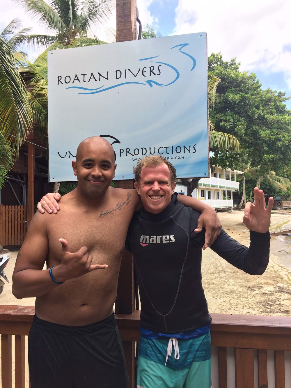 new open water diver from US to roatan