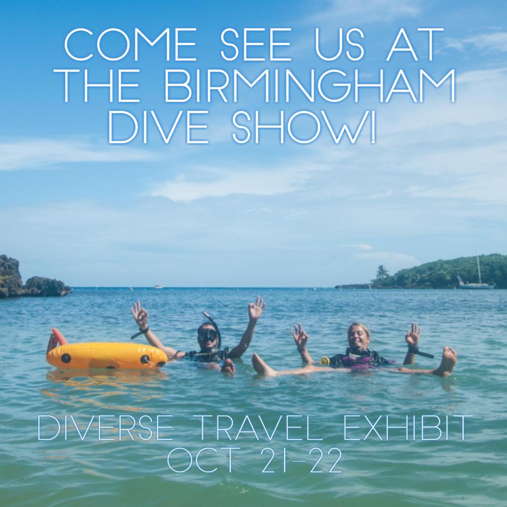 Roatan Divers Birmingham Dive Show 2017