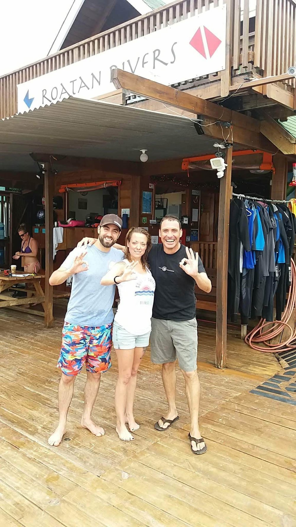 Pascal & Kristina are Advanced Open Water Divers