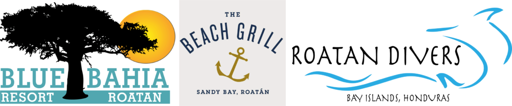 Blue Bahia Resort Beach Grill Roatan Divers