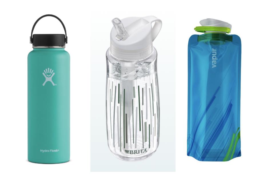 Reusable water bottles Roatan Honduras