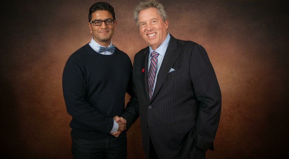 Ron with  John Maxwell - Worlds #1 Leadership Authority