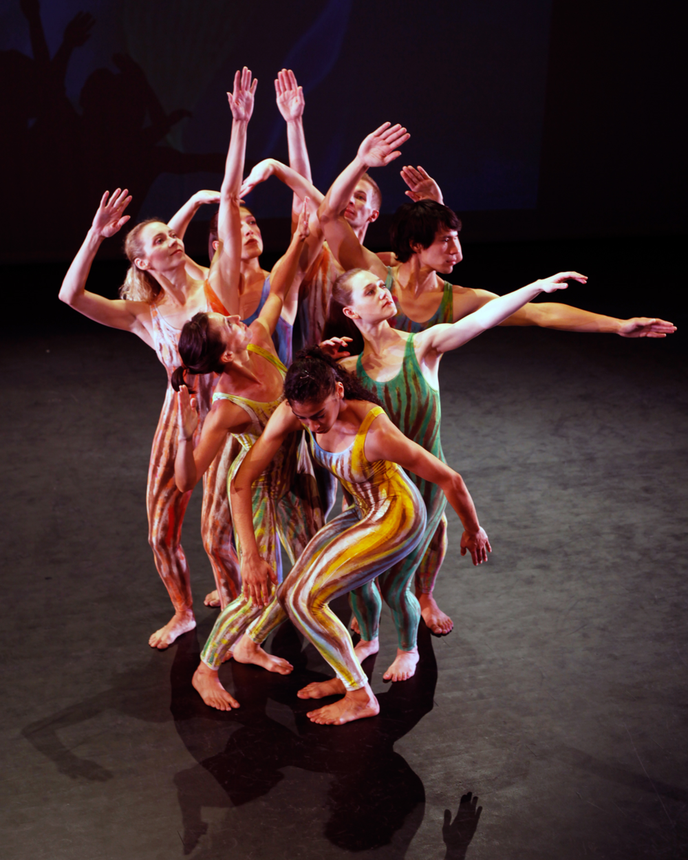 """Rainwood"" Choreographer: Ze'eva Cohen. Dancers: RDT. Photo: Mickey Hoelscher"