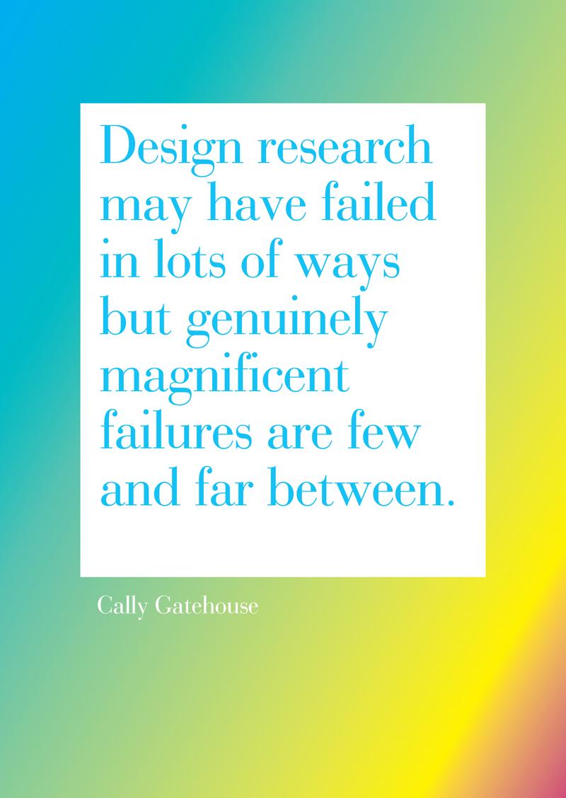 Research. Failure 25