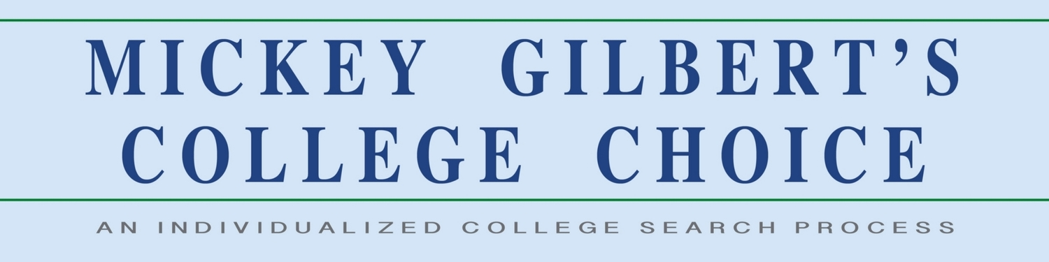 Mickey Gilbert's College Choice