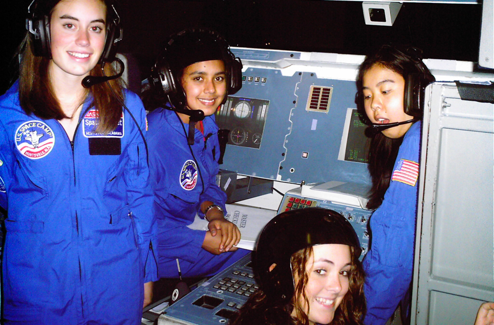 Students at Space Camp Huntsville Alabama