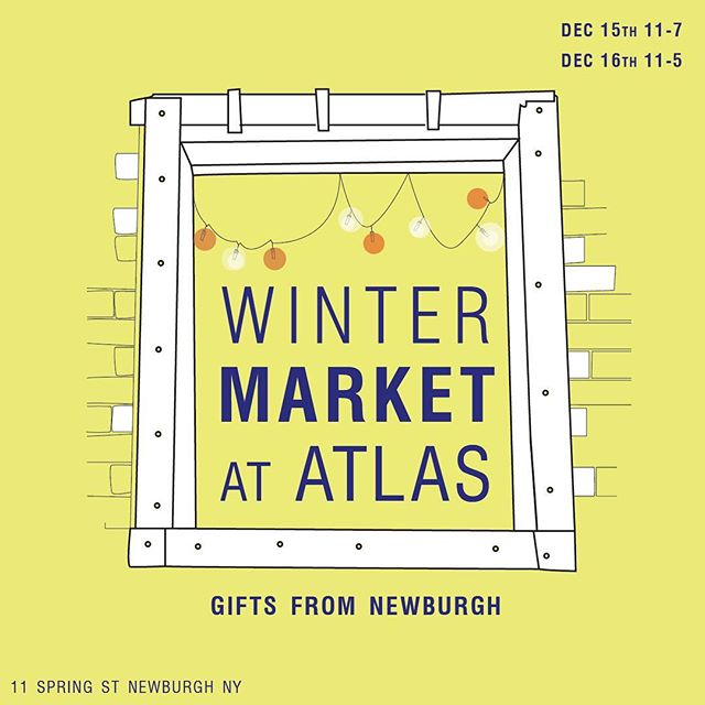 Still need those last minute holiday gifts for those hard-to-buy-for people in your life? Tired of driving all the way to a store to find a bunch of different products in one area? Then @atlasnewburgh has you covered this weekend! #newburghny  #shoplocal #outlastlife