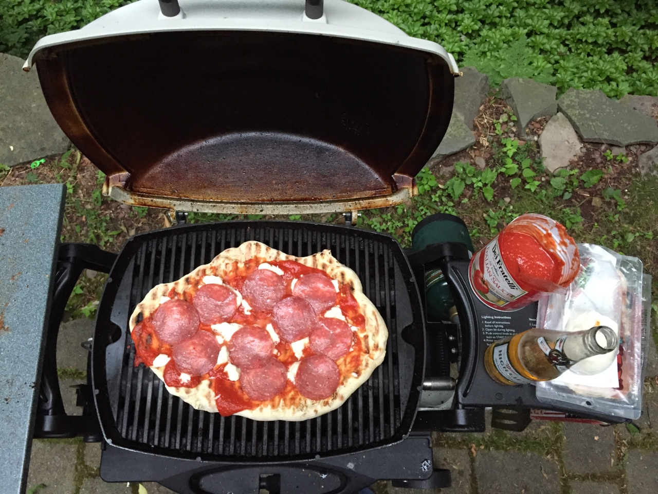 Summer is made for grilling pizzas