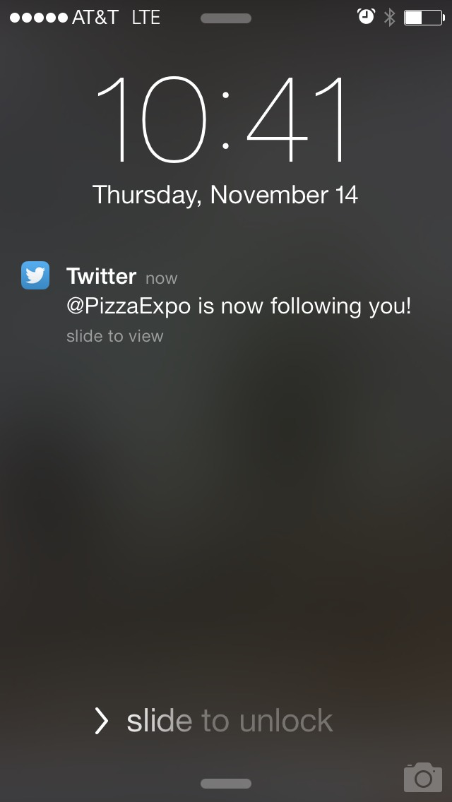 Making big inroads in the pizza journalism community.