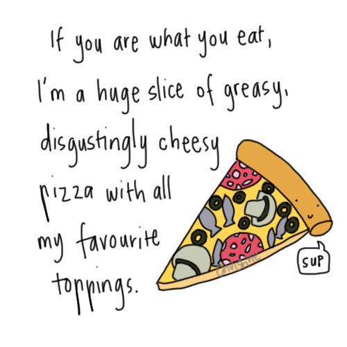 christine-doodles :     You are what you eat?     Hey, I don't hear anyone complaining.