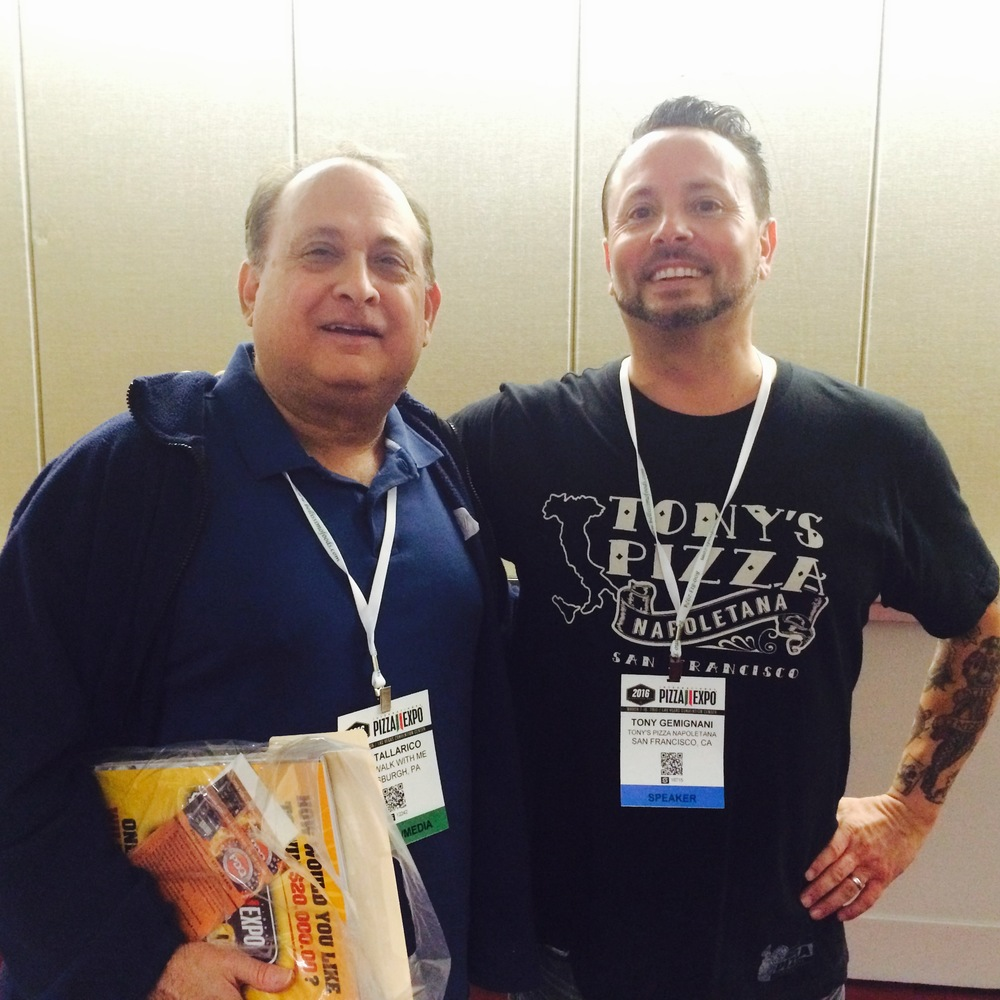 Tom Tallarico and Tony Gemignani