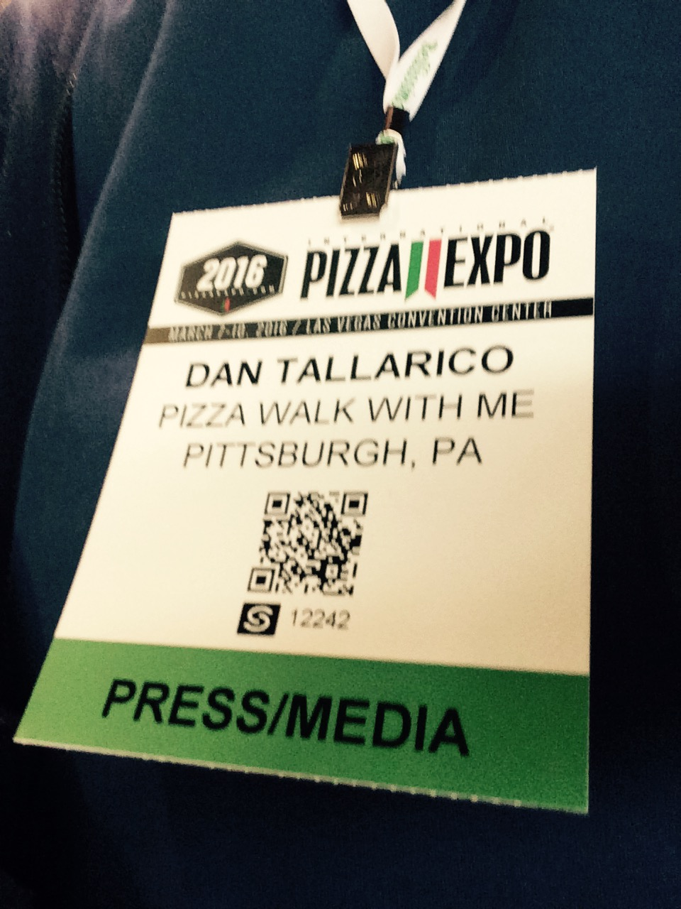 pizza expo press pass