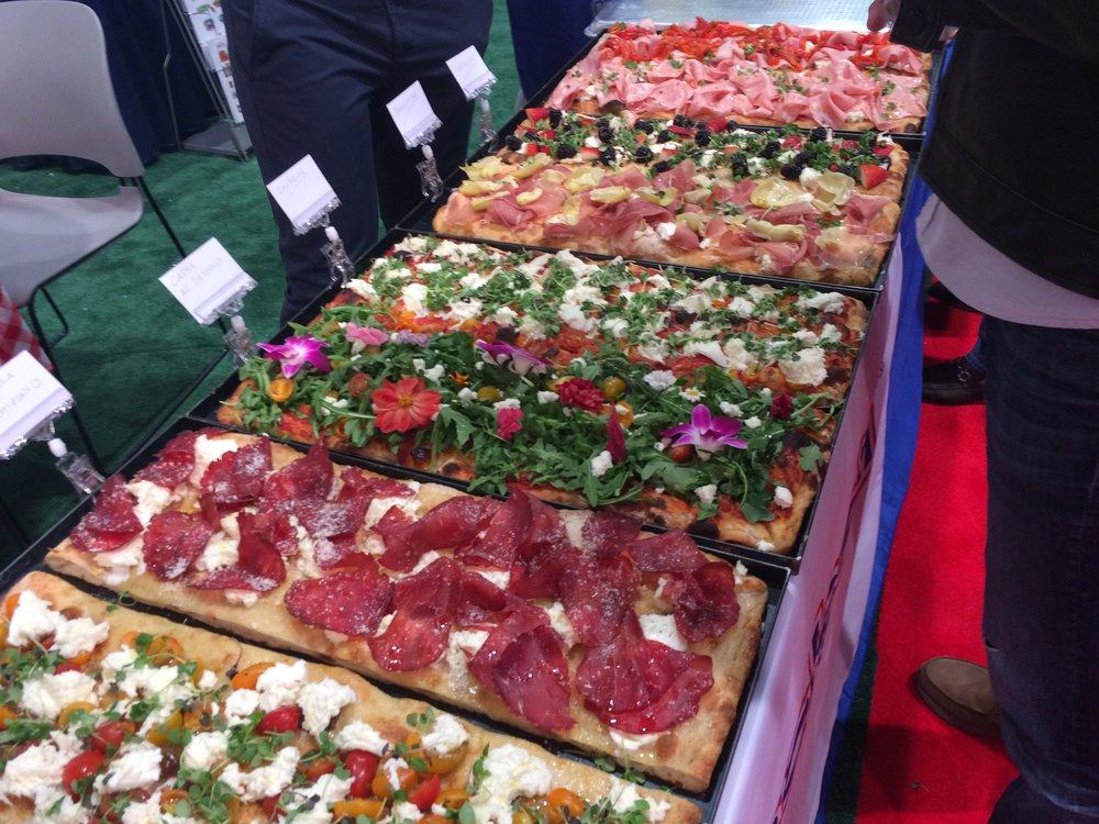 It wouldn't be Pizza Expo without pizza.