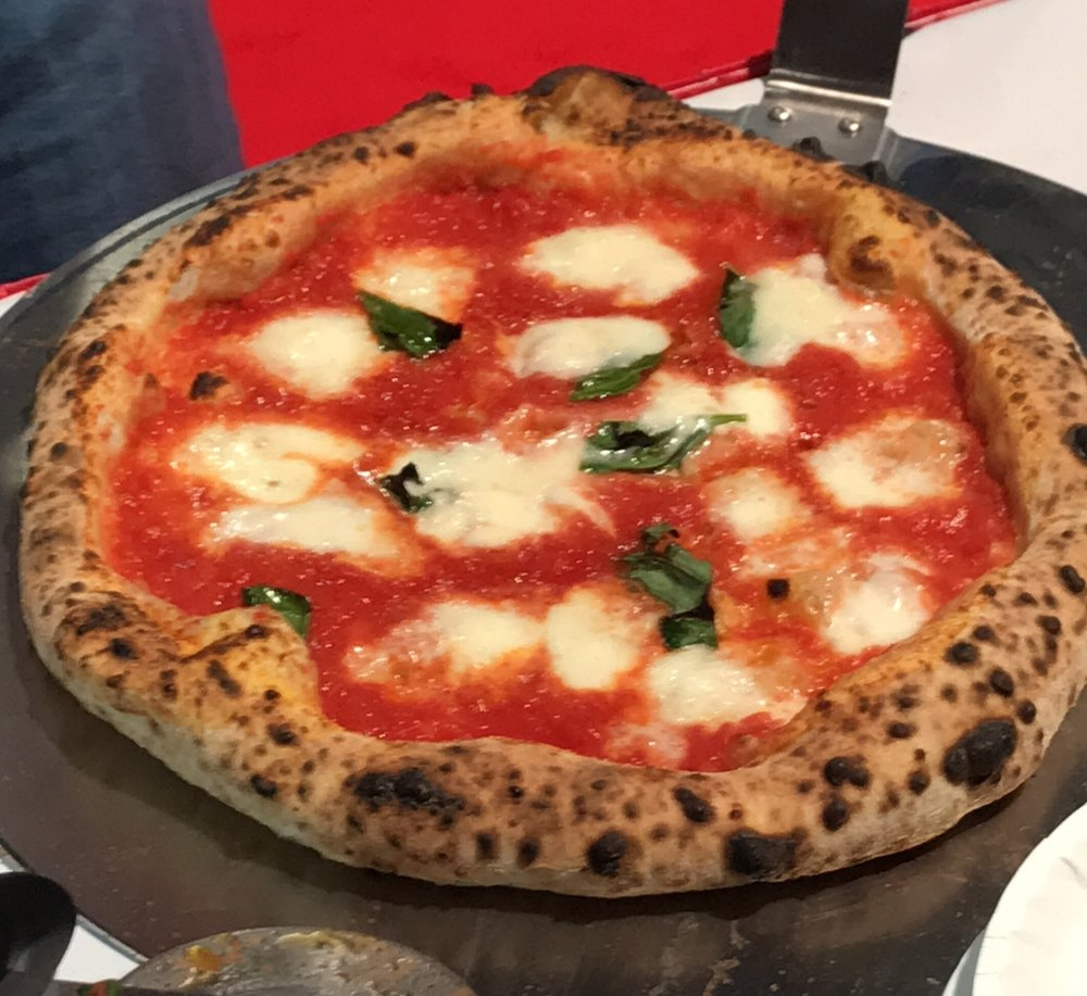 Mercurio's award winning Neapolitan pizza