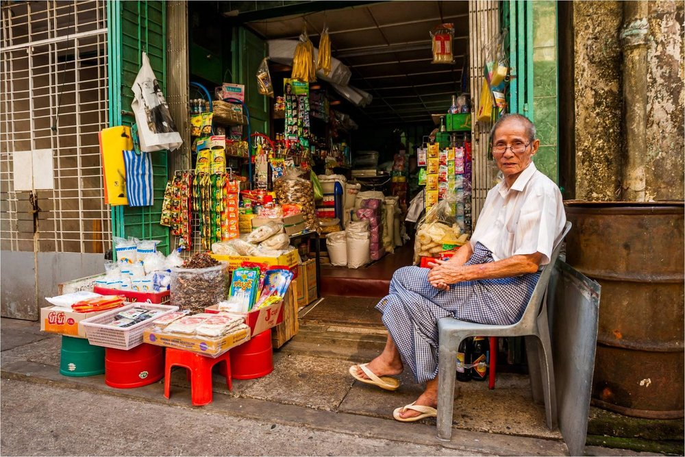 Citylife  Any nooks and crannies of Yangon is filled with small shops. A short brisk walk will net you a peek into their lives.