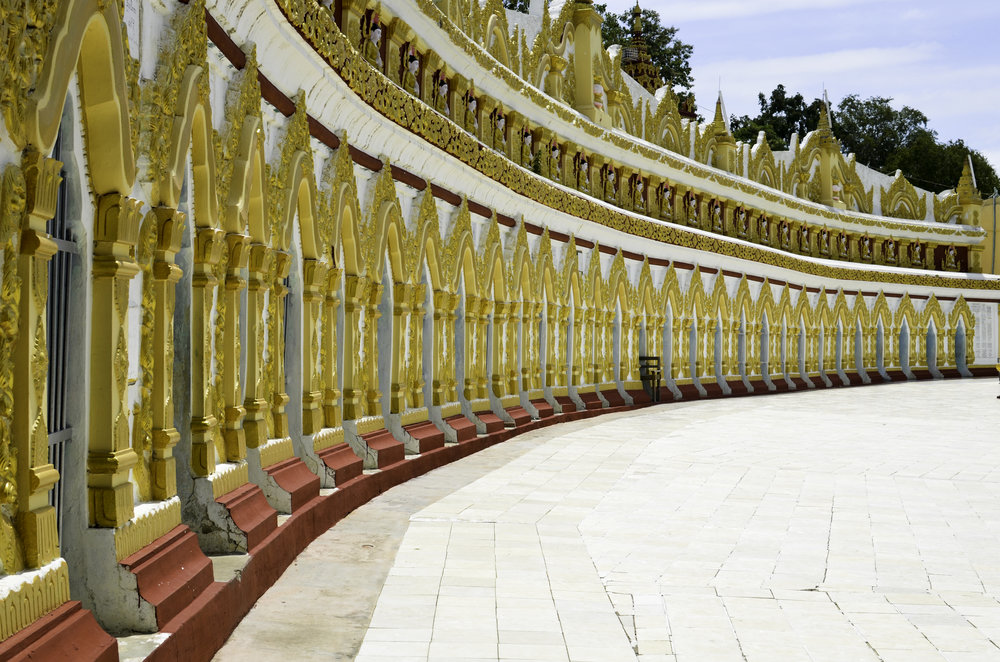 Temple in Sagaing
