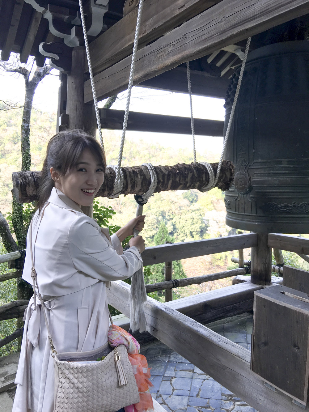 """I can't ring this bell again"" she says, ""I've rung it three times and it says 'FREE 3 Rings only'""."