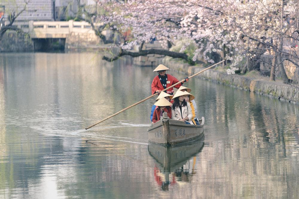 Canal Area, Kurashiki, Japan