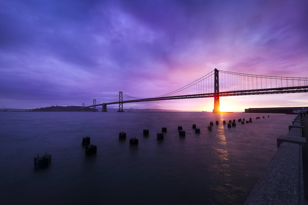 San Francisco - Oakland Bay Bridge, California