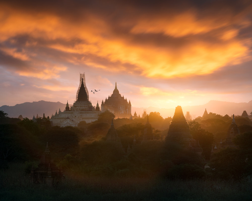 Ancient Temples of Bagan, Myanmar
