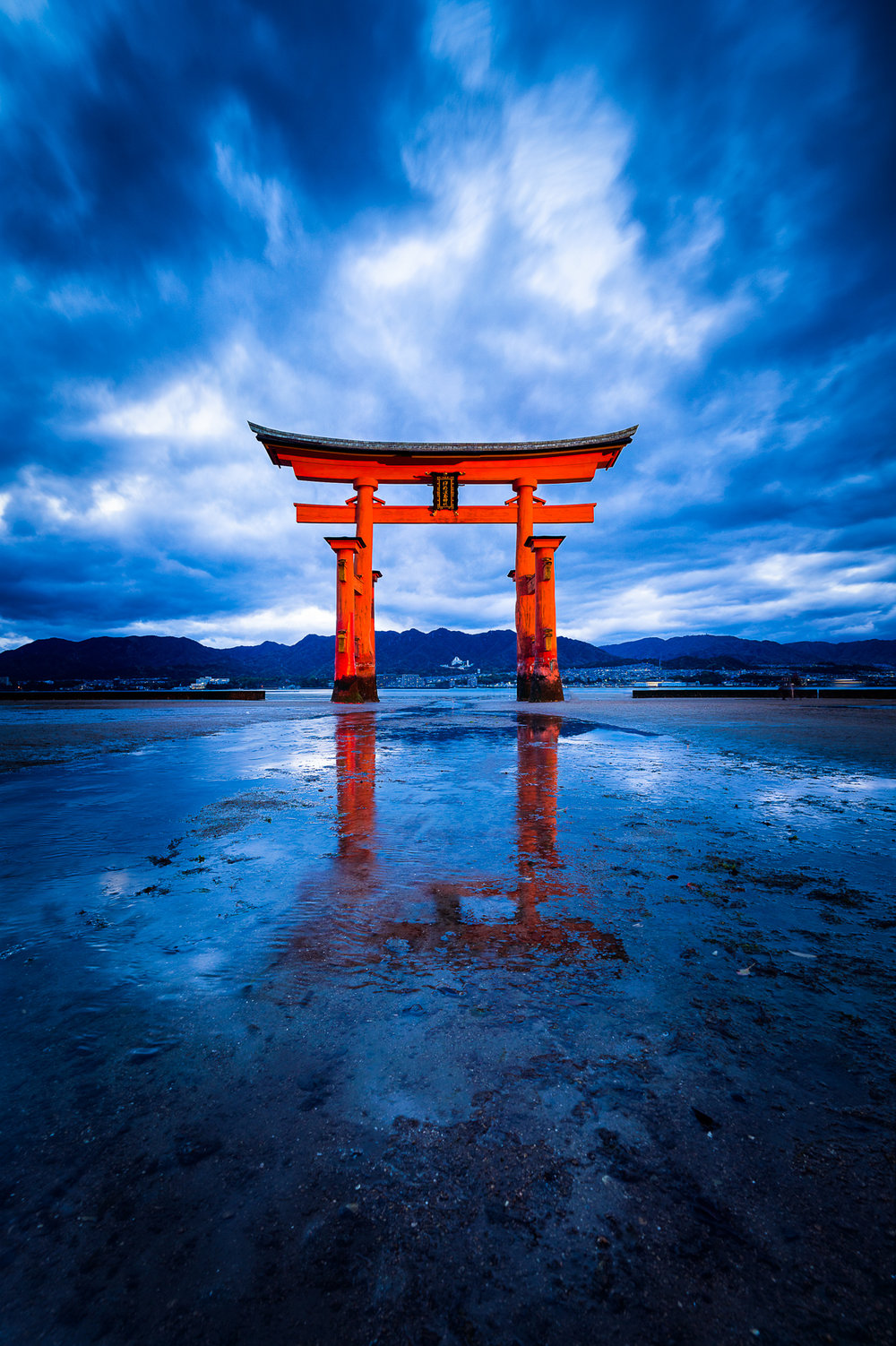 Itsukushima Shrine Torii, Miyajima, Japan