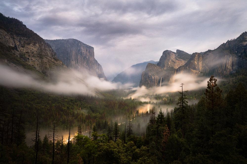 Tunnel View, Yosemite National Park, California