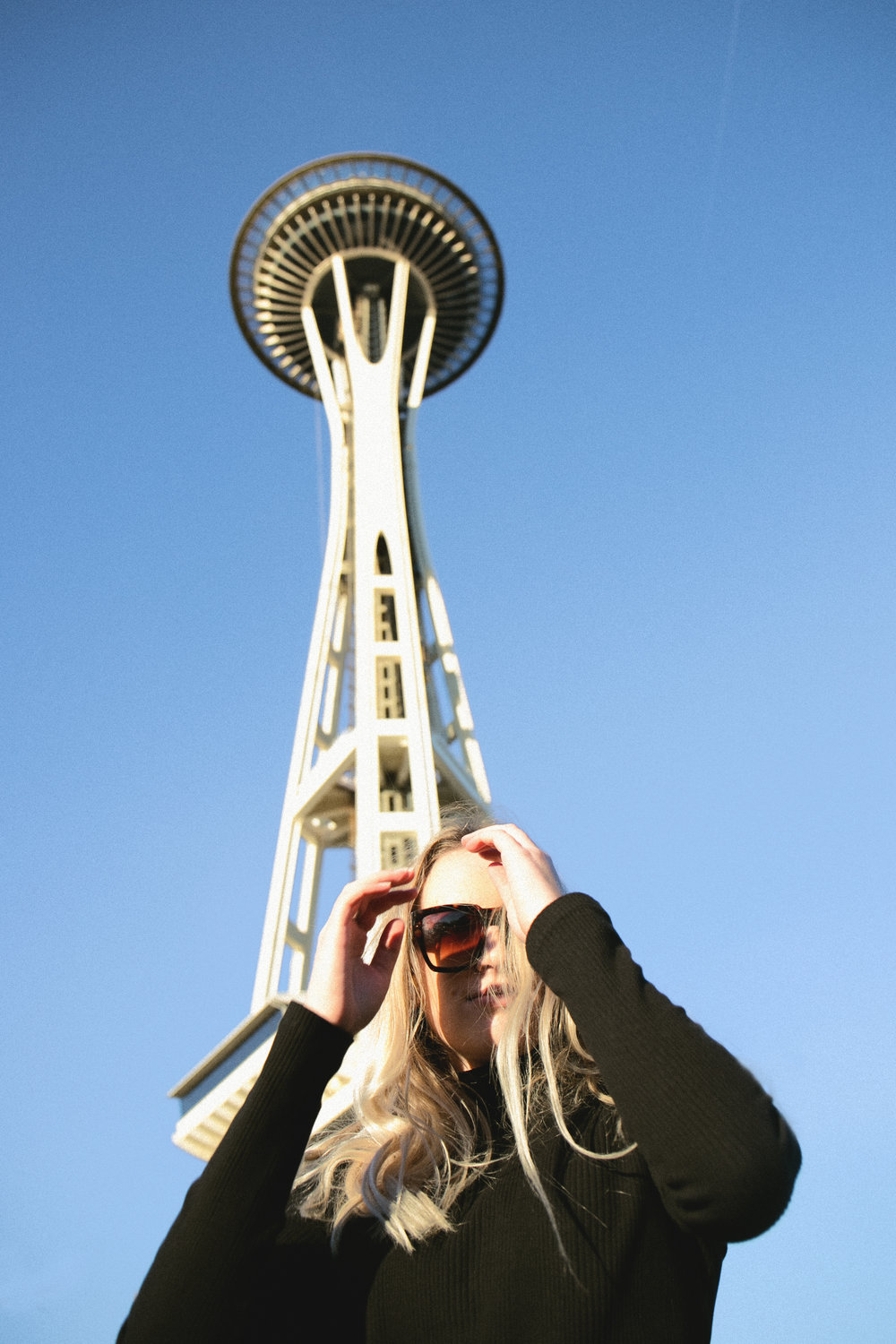 Seattle Space Needle, top from local store  Glasswing .