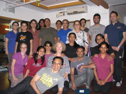 Essential Somatics workshop attendees in Chennai, INdia