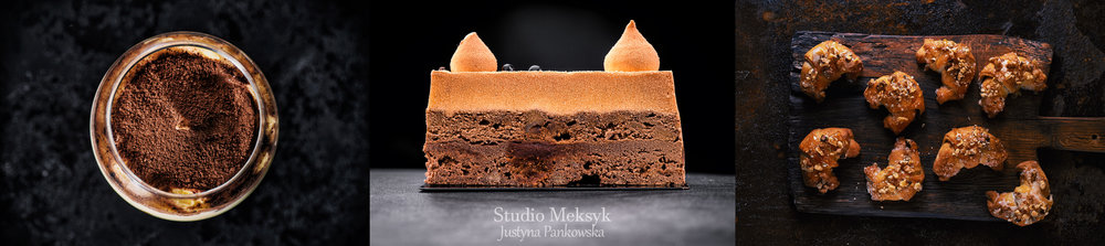 food photo, food stylist, food photographer, black photo, tiramisu, cake, rugelach, photoshoot,