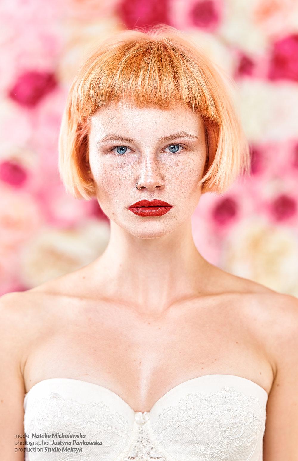 Natalia Michalewska, rose, glamour, warszawa, zdjęcia, beauty, girl, freckles, natural, portrait, pro, retouch, photography, D4s, nikkor 105 macro, Justyna Pankowska, Studio Meksyk,3.jpg
