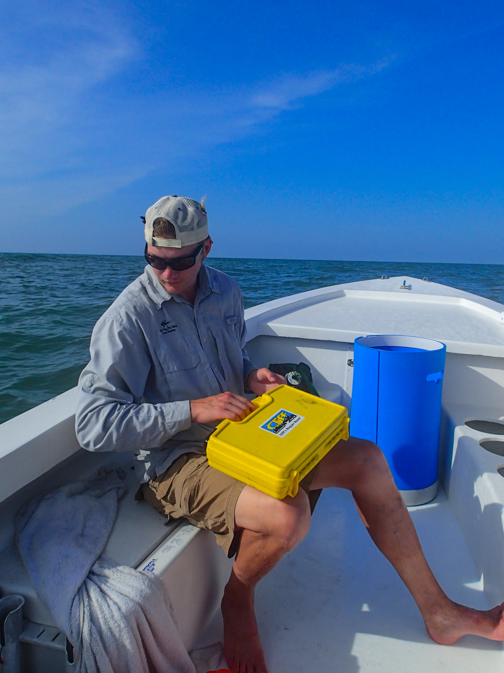 On the hunt for Tarpon on the fly - in Port O'Connor