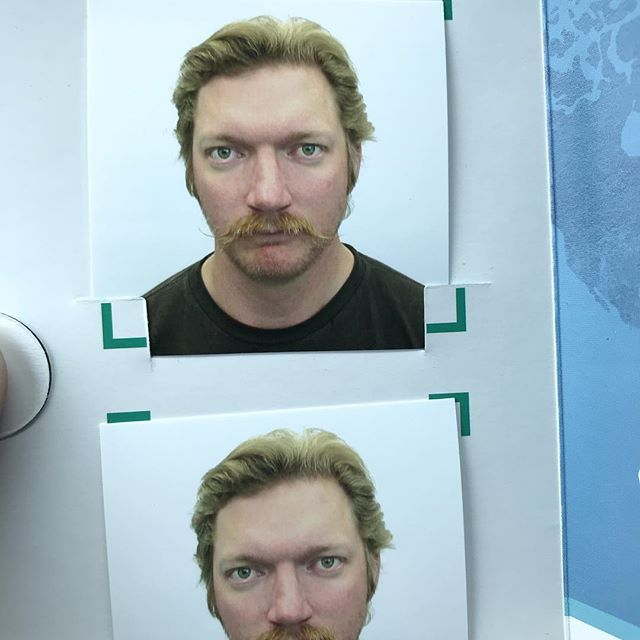 New passport photo or mugshot??? You decide.  #imcomingiceland #fishonthebrain @fishpartner
