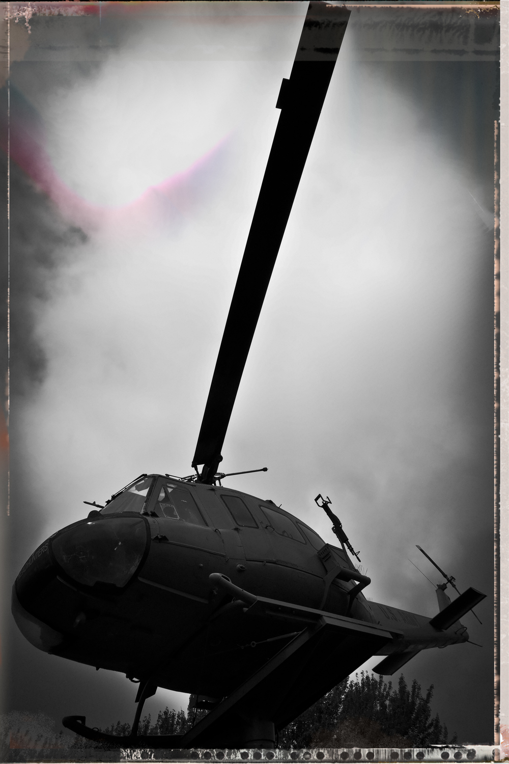UH-1D Dust Up - August 2013