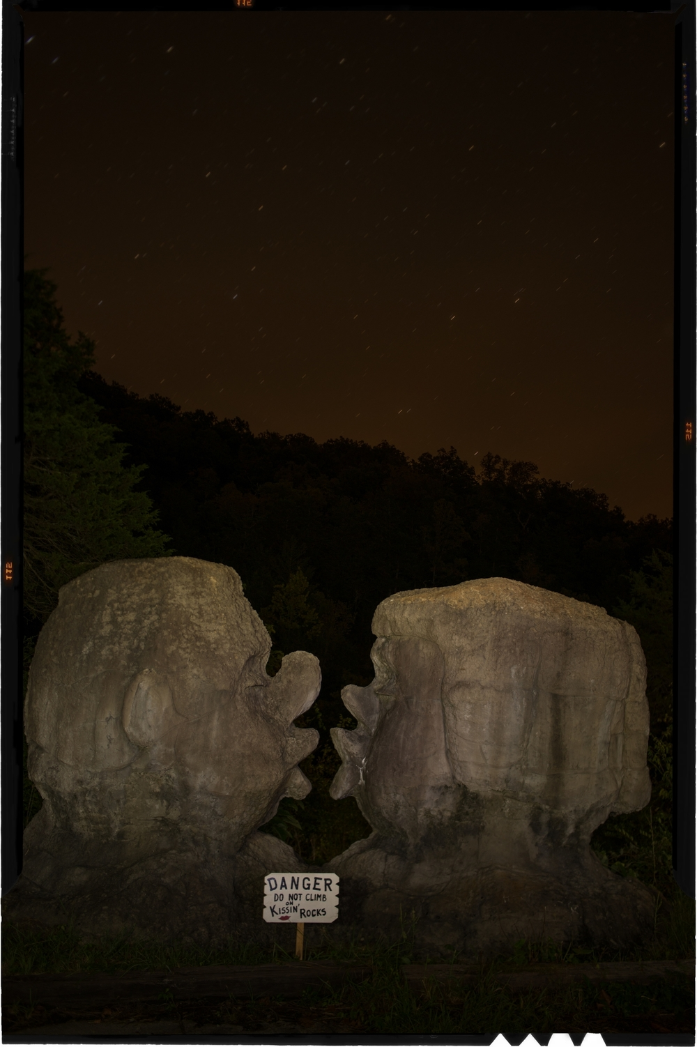 Kissing Rocks