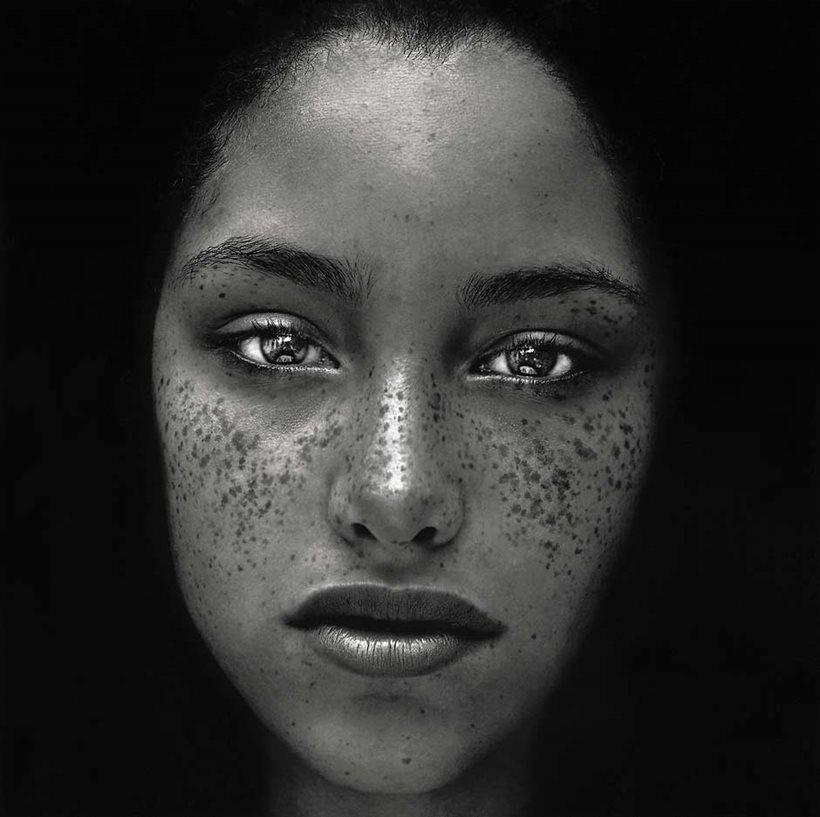 Freckles irving penn jpg