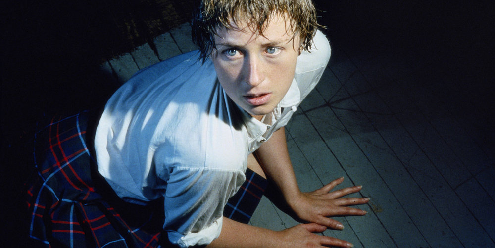 Untitled Horrors  - 2012. Motives found within Cindy Sherman's earliest work continues in current efforts. She has been criticized for becoming a parody of the parody she initially portrayed in  Film Stills .
