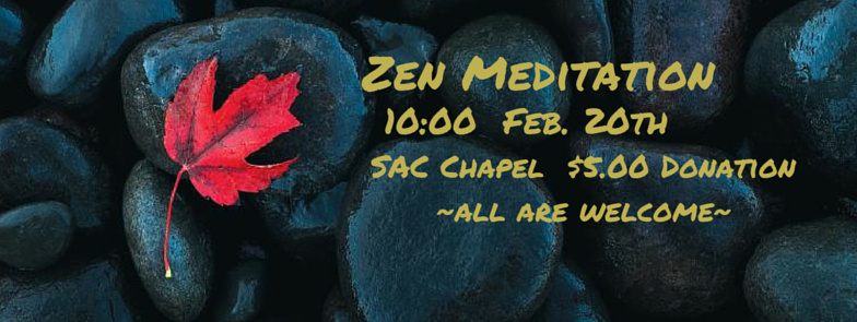 No Barriers Zen Feb 20th