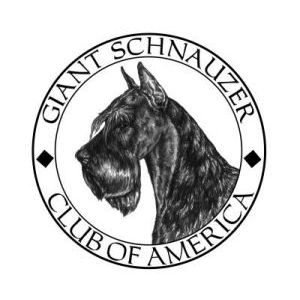 Giant Schnauzer Club of America logo - Style: Pen & ink