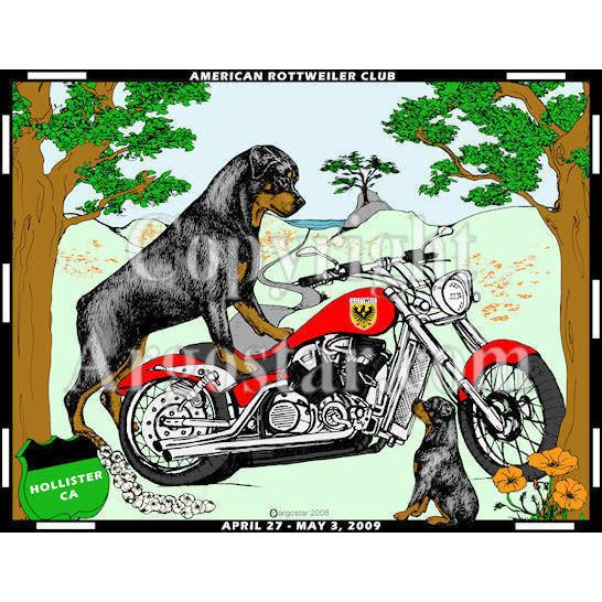 American Rottweiler Club National Specialty Show Logo