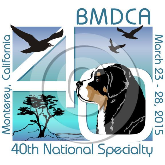 Bernese Mountain Dog Club of America 2015 National Specialty Logo