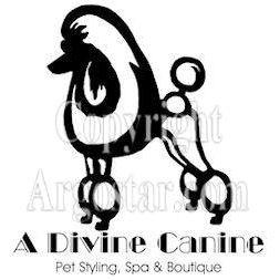 A Divine Canine Logo