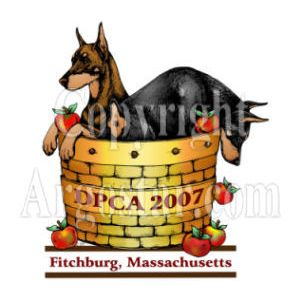 Doberman Pinscher Club of American 2007 Specialty Show Logo