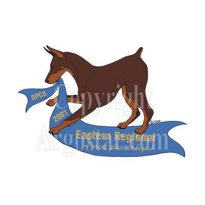 Doberman Pinscher Club of America First Regional Show Logo