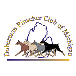 Doberman Pinscher Club of Michigan Logo