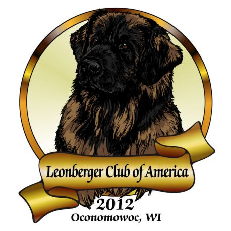 Leonberger Club of America 2012 National Specialty Logo