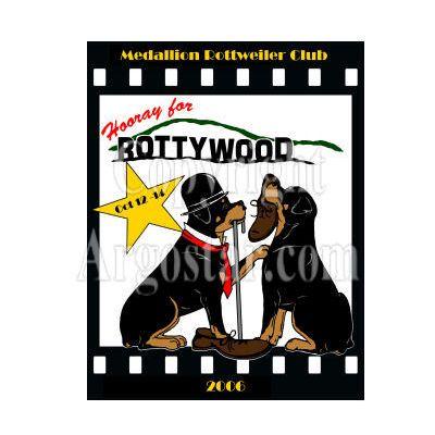 Medallion Rottweiler Club 2006 Specialty Show Logo