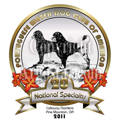 Portuguese Water Dog Club of America 2011 National Specialty Logo