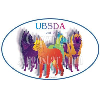 United Belgian Sheepdog Association 2002 National Specialty Logo